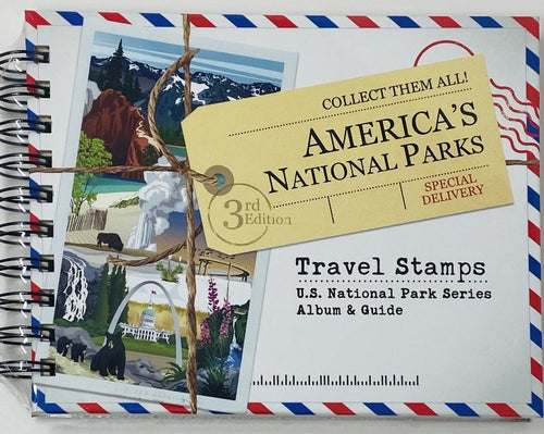 Travel Stamps Album & Guide - National Parks