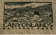 Load image into Gallery viewer, Canyonlands Block Print T-shirt