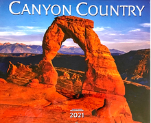 Load image into Gallery viewer, 2021 Canyon Country Wall Calendar