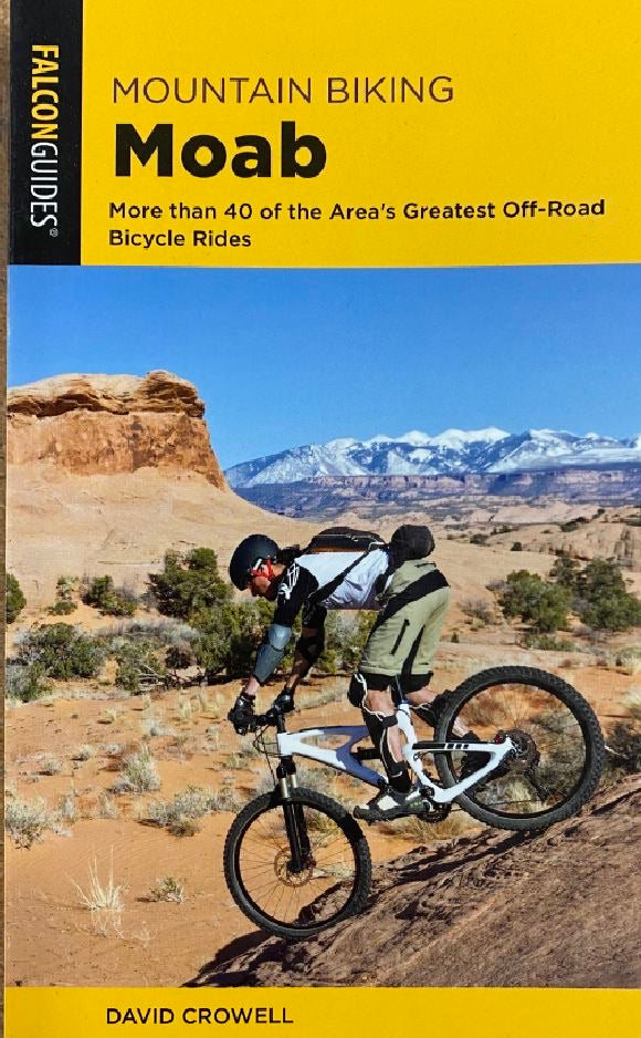 Mountain Biking Moab Pocket Guide 4th Edition