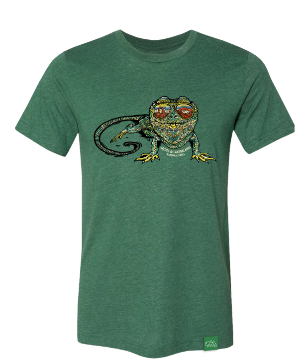 Lizard Reflection T-Shirt