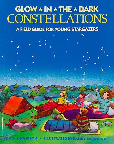 Glow in the dark constellation guide