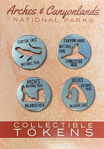 Token Set Die Cut Arch & Cany