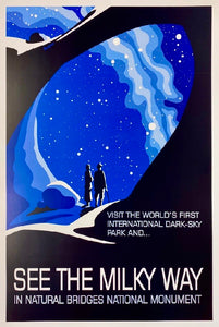 Natural Bridges Dark Sky Poster