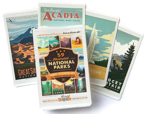 61 National Parks Sticker Set