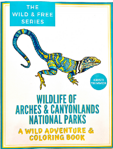 Wildlife Coloring Book Arches & Canyonlands