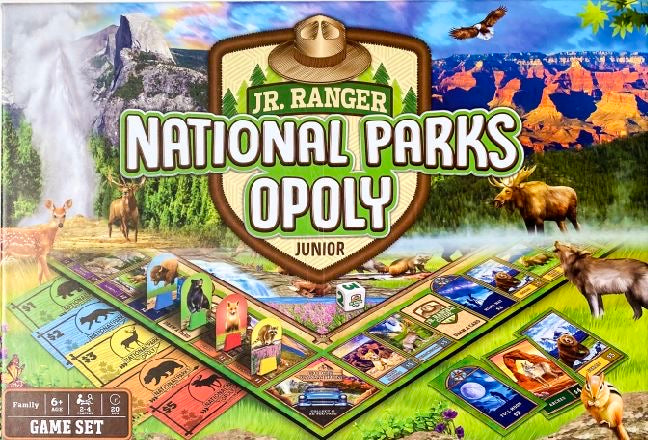 National Parks Opoly Junior