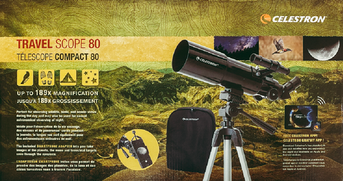 Travel Scope 80 Backpack Kit