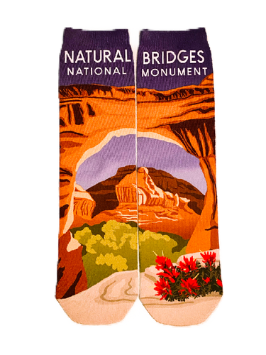 SOCK NATURAL BRIDGES CREW
