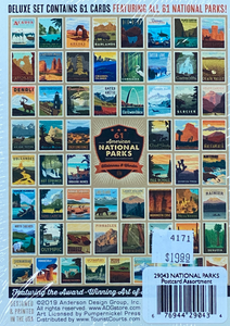 61 Postcards of National Parks