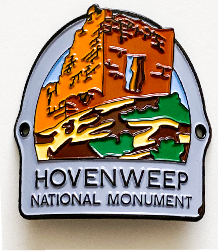 Hovenweep Walking Stick Medallion