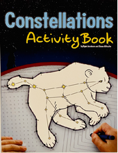 Load image into Gallery viewer, Constellations Activity Book