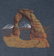 Load image into Gallery viewer, Delicate Arch Word T-Shirt