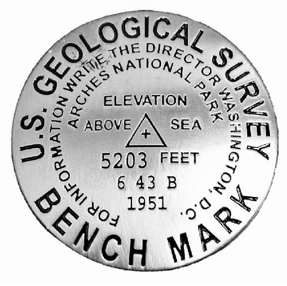 Arches National Park Benchmark Magnet