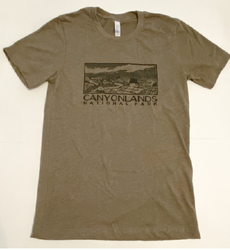 Canyonlands Block Print T-shirt