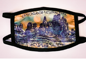 Canyonlands Face Cover