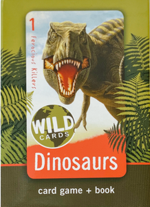 Dinosaurs Card Game and Book