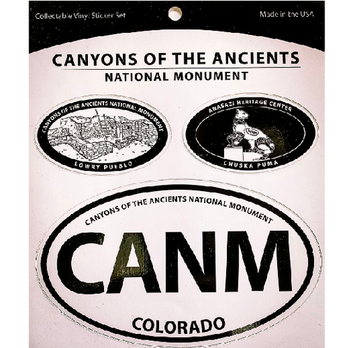 Canyons of the Ancients National Monument Vinyl Decal Set