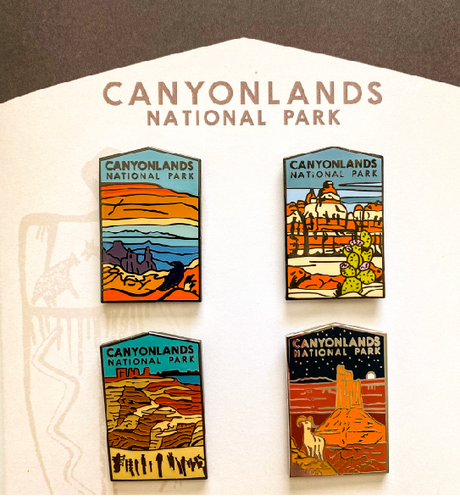 Canyonlands National Park Pin Set