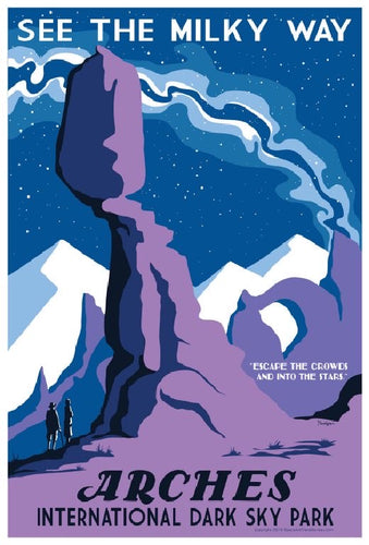Arches International Dark Sky Park Poster