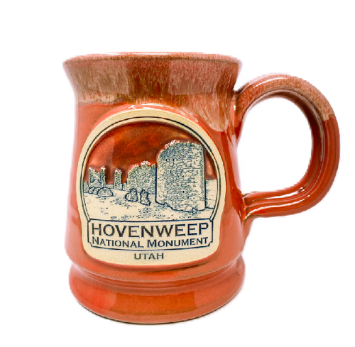 Hovenweep Footed Mug