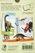 Load image into Gallery viewer, Dinosaurs Card Game and Book