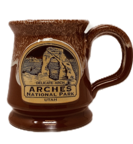 Arches Footed Mug
