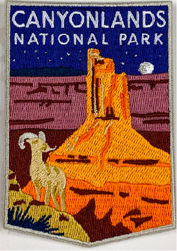 Canyonlands Candlestick Tower Patch