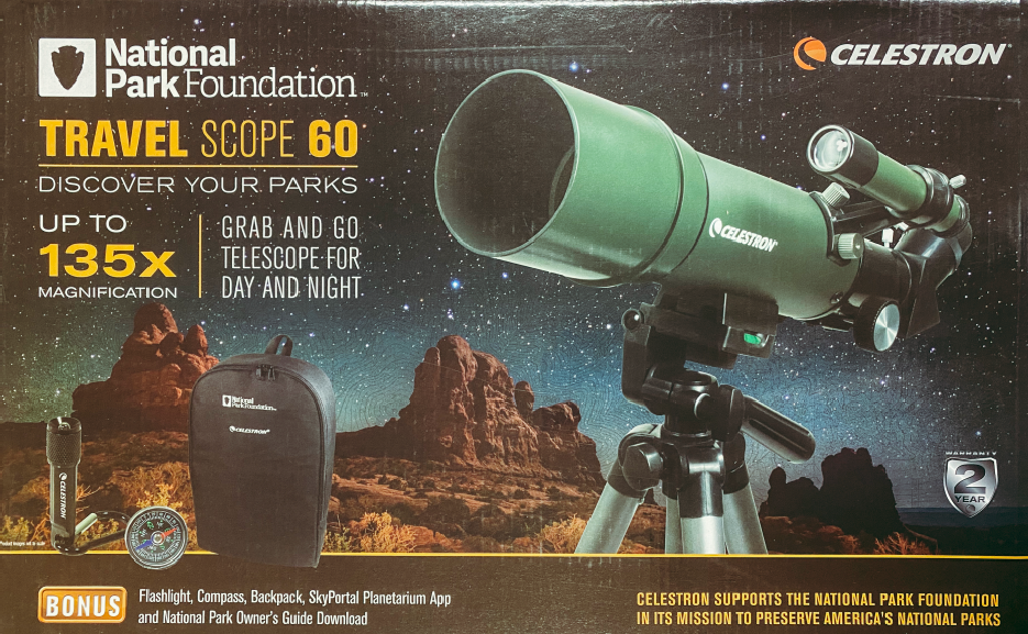 National Park Foundation Travel Scope 60