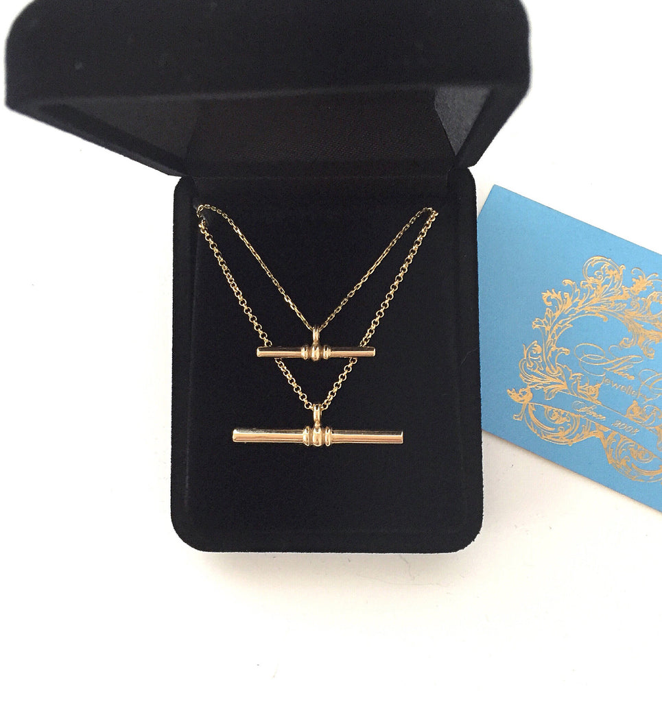 Mummy & Me T Bar Necklace