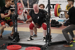 squat at the wdfpf world champs deadlift slick and stck
