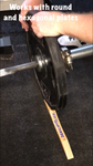 deadlift wedge even works with hexagonal plates