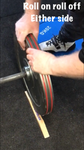 deadlift wedge easy to use for changing weight plates roll on roll off