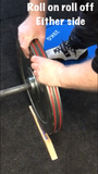deadlift wedge roll on or roll off any side