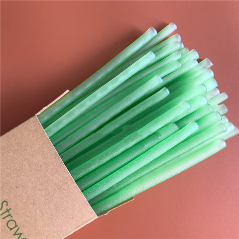 Image of Zero plastic edible rice straw