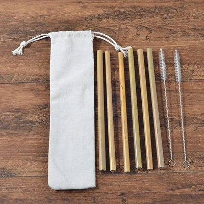 Image of Eco-Friendly Bamboo Toothbrush Sets