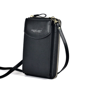 PU Luxury Handbags Womens Bags for Woman 2021 Ladies Hand Bags Women's Crossbody Bags Purse Clutch Phone Wallet Shoulder Bag