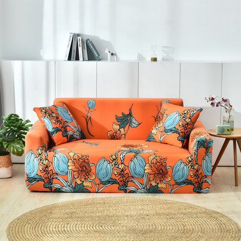 Image of Elastic all-inclusive sofa cover