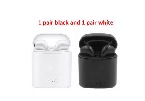 Image of Bluetooth Headset Wireless Single Ear Stereo