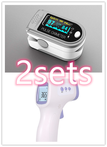 Portable Blood Oxygen Monitor Finger Pulse Oximeter
