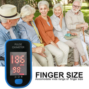 High Definition Large Screen Monitor Finger Heart Rate Finger Clip Oximete