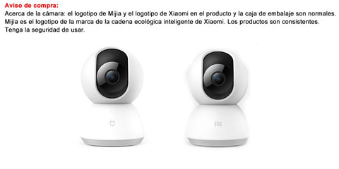 Xiaomi Mi Camera 1080P 360 Grados Cámara WiFi Smart Webcam Pan-tilt night Vision Video Camera Baby Monitor Home Security Camera