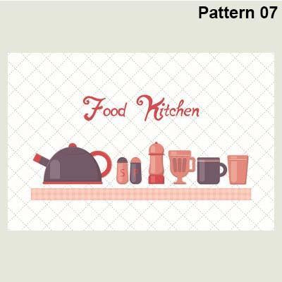 Self Adhesive & High Temperature Resistance Oilproof Kitchen Sticker(Multiple patterns)