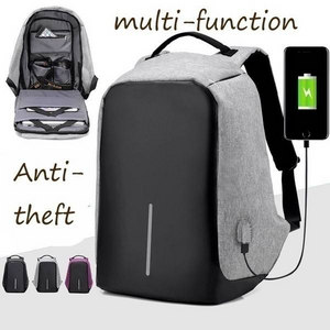 Multi-Function High-Capacity Anti-Theft Computer Package USB Charge Travel Backpack Men'S Fashion Trend Anti-Lost Shoulder Bag