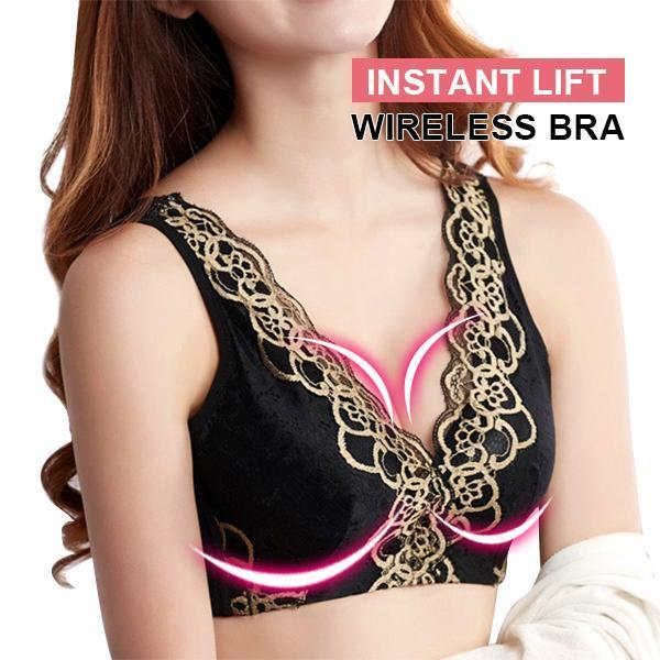 Instantly Lift Wireless Adjustment Type  Bra