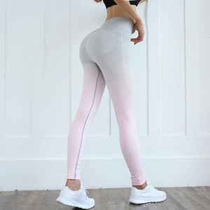 Anti-Cellulite High-waisted Seamless Yoga pants Compression Leggings