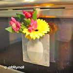 UNIQUE SILICONE FLOWER VASE LETS YOU PUT FLOWERS ANYWHERE - MAGIC SILICONE VASE