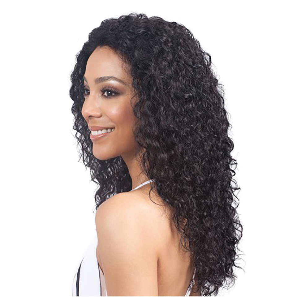 Free Part Curly Human Hair Wig