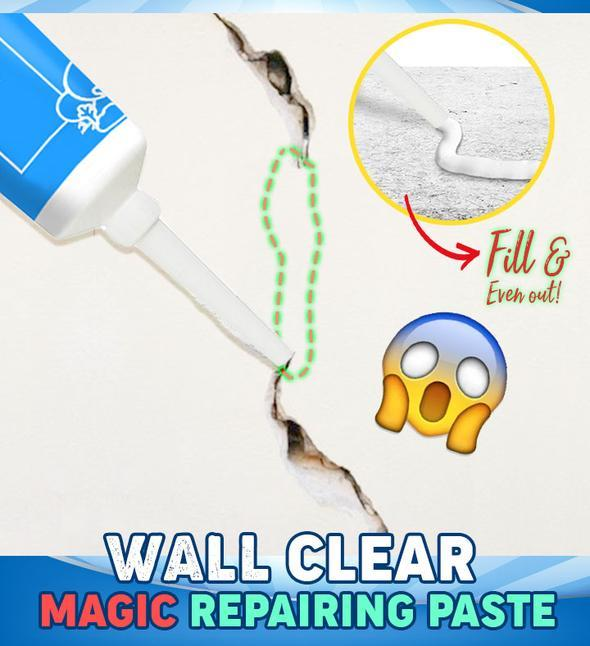 Universal Wall Mending Ointment Repair Cream with Scraper, Waterproof & Mildewproof, for Peeling Walls, Wall Crack & Graffiti