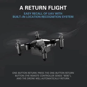 Mini DRONE Folding Unmanned Aerial Vehicle